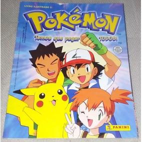 Album Figurinhas Pokemon Temos Que Pegar Panini 2000