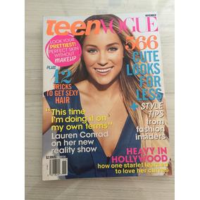 Revista Teen Vogue Lauren Conrad / Alexa Chung