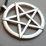 Colar Pentagrama Invertido Baphomet Satan Lucifer