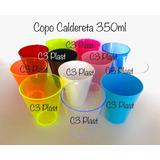 100 Copo Caldereta Drink 350ml Acrilico -excelente Produto!