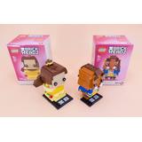 Lego Brick Headz Bella Y La Bestia 41595 41596 Nuevo Envio G
