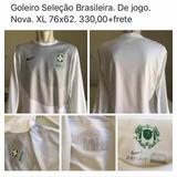 Camisa Goleiro Seleção Brasileira Treino - Futebol no Mercado Livre ... d3425249a5bf3