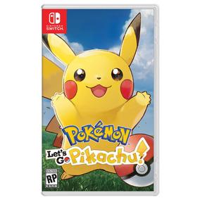 Videojuego Nintendo Switch Pokémon Lets Go Pikachu