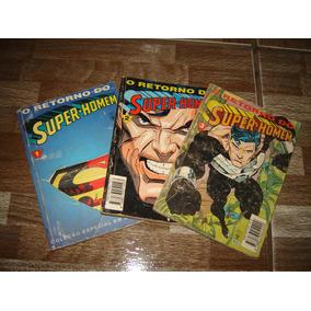 Coleção O Retorno Do Super Homem Vols. 1,2 E 3