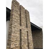 Piedra Laja Color Tabaco Para Fachadas Interiores/exteriores
