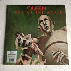 Queen Lp News Of The World Lacrado 2015 Vinil