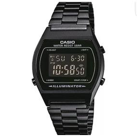 Reloj Casio Negro Mate B640 Retro Vintage Envio Gratis