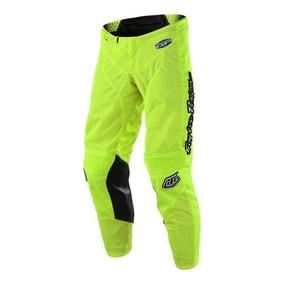 Pantalon Cross Para Niño Troy Lee Gp Air Mono Amarillo Fluor