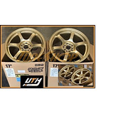 Rines Rays Gramlights 57dr 17x9 +38 5x100 Brz Gold