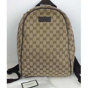 Gucci Backpack Con Cubrepolvo 100% Original