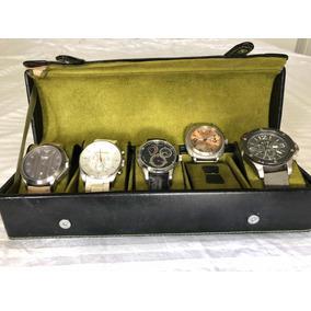 Coleção De Relógios Empório Armani Com Estojo