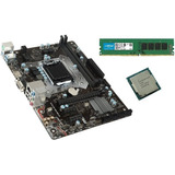 Kit Actualización Pc Intel G4560 4gb Ddr4 Mother Gigabyte