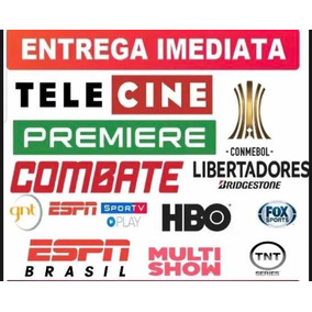 Tenha O Melhor Do Futebol ( Premiere Play, Telecine Play +