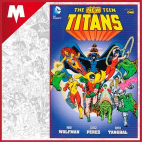 The New Teen Titans Vol 1 Dc Comics Tp Inglés Nuevo