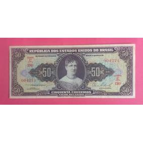 Cédula C090 - 50 Cruzeiros 1954 Fe Frete Grátis *