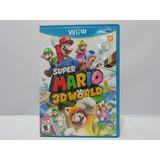 Super Mario 3d World - Wii U ¡fisico-usado!