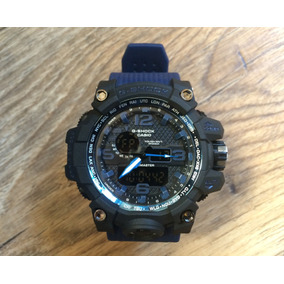 77353adb6a9 Relogio G Shock Mudmaster Azul E Preto Primeira Linha - Relógios De ...