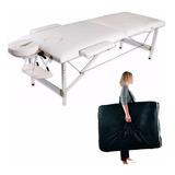 Camilla Masajes 2 Cuerpos Aluminio Blanca Bolso Acqui R3349