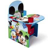 Escritorio Silla Infantil Pupitre Madera Mickey Mouse