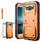 Samsung Galaxy J3 Emerge 2017 - Orange - Resistente Res-8991