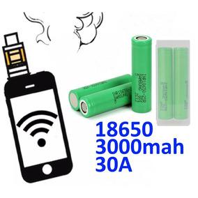 2 Baterias 18650 Vtc6 3000mah 30a Vape Vaporizador