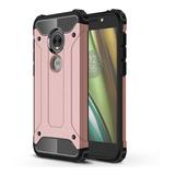 Funda Uso Rudo Moto E5 Play Americano + Glass No Telcel At&t