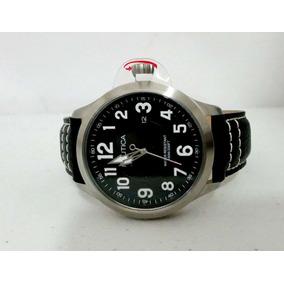Reloj Nautica Para Caballero 100% Original Correa De Piel