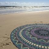 India Mandala Redonda Roundie Beach Tire Tapiz Hippy Boho...