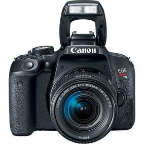 Câmera Canon Rebel T7i 18-55mm Is Stm Pronta Entrega