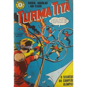 Turma Titã #1 Ebal 1968 O Herói 4a Série Loja De Coleções