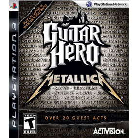 Guitar Hero Metallica - Ps3 - Física - Usado - Madgames