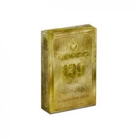 Baralho Dourado Copag - Brinquedos e Hobbies no Mercado Livre Brasil 8a072b5da50