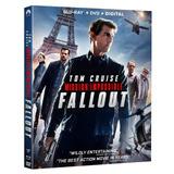Mission Impossible Fallout Blu-ray + Dvd Original Nuevo Imp
