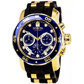 Relógio Pp984 Invicta Pro Diver 6983 - Ouro 18k Original