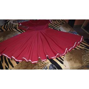 Vendo Vestido Midi No Tecido Neoprene Cor Vermelho Tanho G