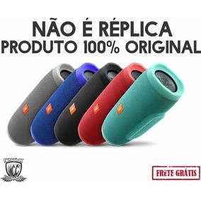 Jbl Charge 3 Bluetooth Prova De Agua Novo 100% Original