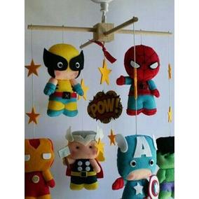 Moviles De Fieltro Avengers