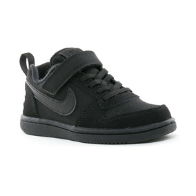 low priced 24715 0bb4b Zapatillas Nike Court Royale Psv Infantil - Negro Y Blanco