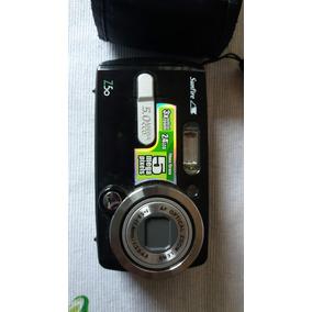 Câmera Fotográfica Sunfire 5 Mega Pixels - Usada + Cartão 8
