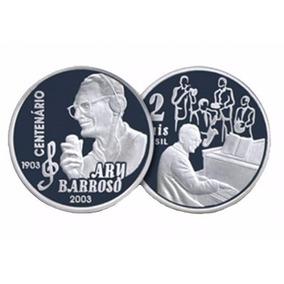 Moeda De Prata - Centenário De Ary Barroso