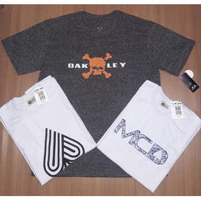 Kit 3 Camisetas Mcd E Oakley Masculina Estampadas c5865575133