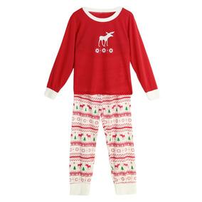 52bd675cfb90c Set Dos Pieza Mujeres Nuevo Pijama Navidad Ropa De Dormir O