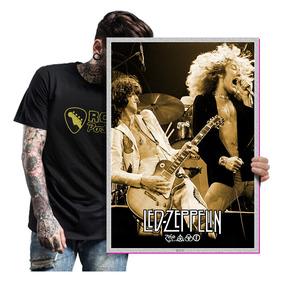 Quadro Fotografia Blues Rock Led Zeppelin Poster Tam. A2 03