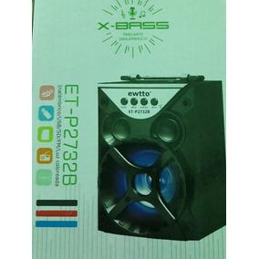 Caixa Som Pequena Com Wireless/usb/sd/fm/color Light