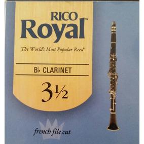 Cañas Para Clarinete 3 1/2 Rico Royal