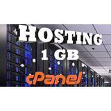 Web Hosting Hospedaje Cpanel 1 Gb