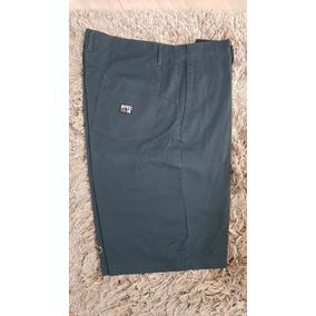 Short Volcom Original Talla 40 Color Verde Azulado