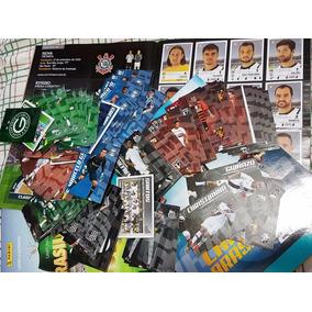 Coleção Brasileirão 2015 Com 360 Cards + Álbum De Figurinhas