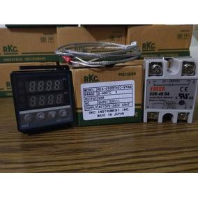 Pirometro Digital-ssr-termopar J-control Temperatura