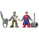 Fisher-price Imaginext Dc Super Friends, Superman - Metallo